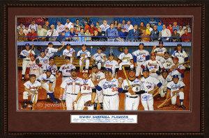 Jewish Baseball Player, Artwork Series 4