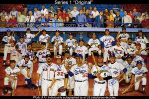 Jewish Baseball Player, Artwork Series 1